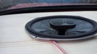 Динамики JBL GTO 938 с усилителем и без (Усилитель Phantom) Магнитола Kenwood 157