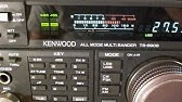 Kenwood TS-450S Repairs for Bruce in QLD (RX Demo) - YouTube