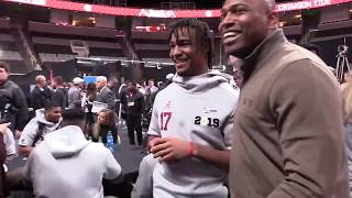 Jaylen Waddle shares funny moment with NFL great Shaun Alexander