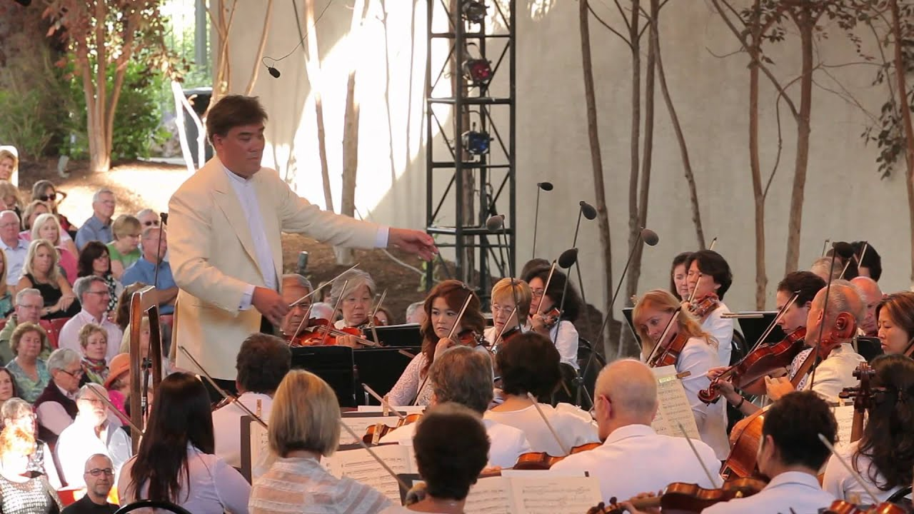 Gilbert Leads Respighi and Staples Plays Vivaldi in Vail, 072512