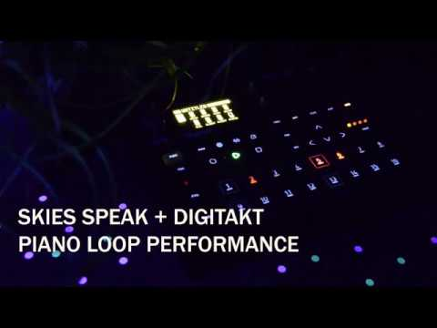 DIGITAKT + PIANO LOOP PERFORMANCE