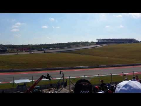 First Lap Formula 1 GP Austin 2013