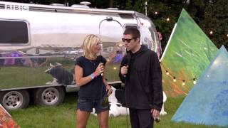 Liam Gallagher talks to Jo Whiley at Glastonbury 2017