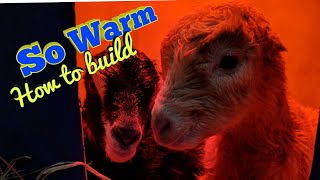 How to build a blue barrel goat  warmer - 2019
