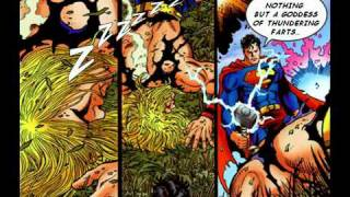 Superman VS Thor (The Comic Book Fight)