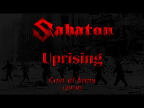 Sabaton - Uprising (Lyrics English & Deutsch)