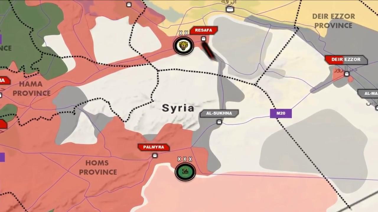 Deir Ezzor Mother of all Battles July 25 2017 Syrian War Video Map