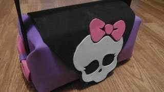Repeat youtube video BOLSO (PURSE) MONSTER HIGH DE GOMA EVA (FOAMI)