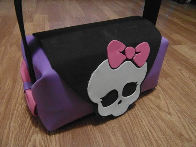 BOLSO (PURSE) MONSTER HIGH DE GOMA EVA (FOAMI) Videos De Viajes