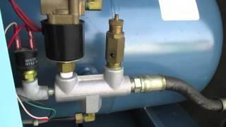 岩田塗装機工業 エアコンプレッサー レシプロ CSD-15P コンプレッサー 検索動画 27