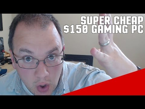 Build a $150 Gaming Computer 2015 - Budget APU PC