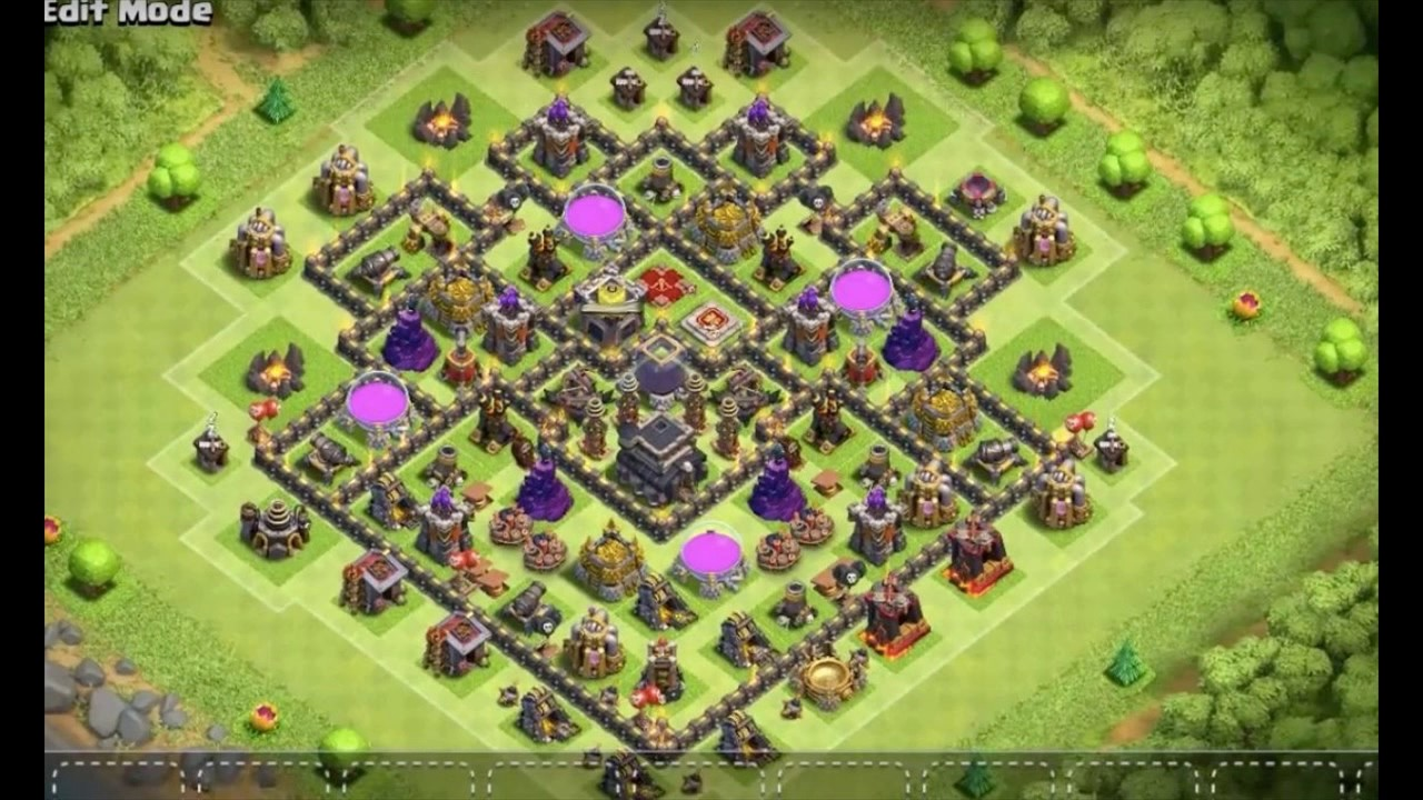 Anti Everything Coc Th9 Farming Base 1