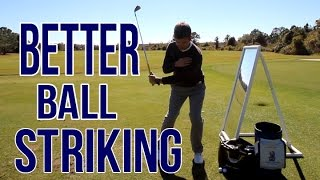 HIGH QUALITY Golf Shots | EASY Drill For Better Ball Striking