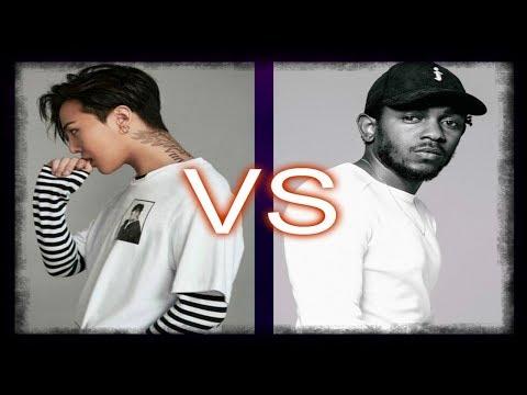 American Rap Vs Korean Rap (2018)