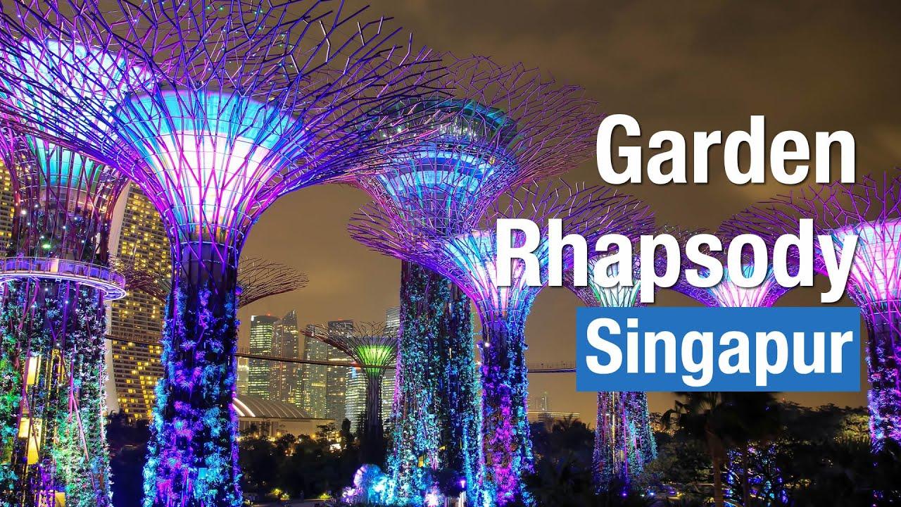 Garden By The Bay Deal garden rhapsody show gardensthe bay singapore summer 2015 hd