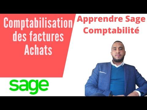 Comptabilisation des factures d'Achat