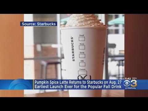 Jim E. Chonga - PSL: Available at Starbucks Beginning Tuesday, August 27th!