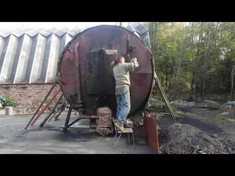 Как сделать древесной уголь. Полный цикл. Пошагово. // Олег Карп