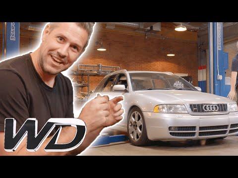 How To Fix An Oil Leak In An Audi S4 Avant | Wheeler Dealers