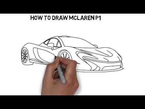 How to draw McLaren P1