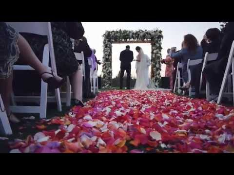 Dana and Rob at the Sharon Heights Golf and Country Club