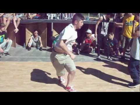 Doing It In The Park 2012 Pre-Lims: Yo Yes Squad V. Unleashed Reflexes