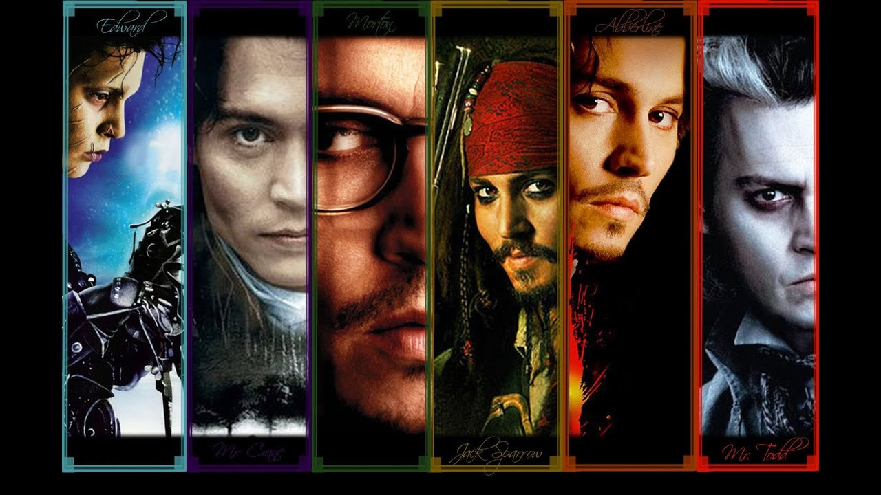 Top 10 Best Johnny Depp Characters Youtube