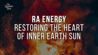 RA Energy Restoring 3D Inner Earth Heart