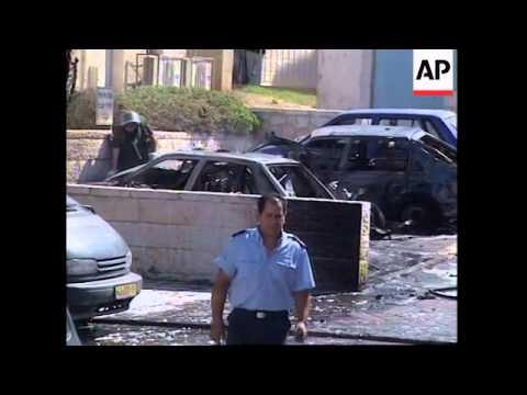 Car bomb explosion in downtown Jerusalem