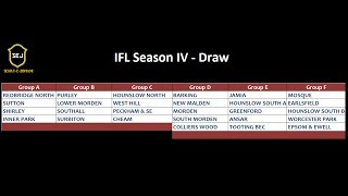 IFL Season IV - Captains Forum & Draw