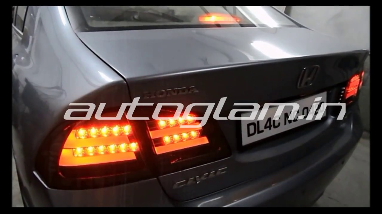 Aghctl609 Autoglam Led Taillights For Honda Civic