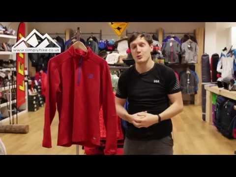 Salomon Discovery Half Zip simplyhike.co.uk YouTube