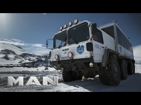 MAN #TRUCKLIFE in Iceland - Glacier tours