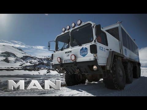 MAN #TRUCKLIFE in Iceland - Glacier tours