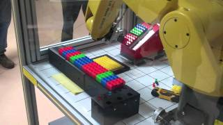 Robotics for Industrial Automation - Level 2 - Final Projects demonstration