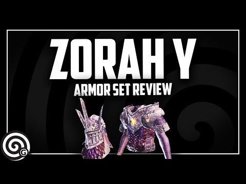 Zorah Magdaros GAMMA - Armor Set Review   Monster Hunter World