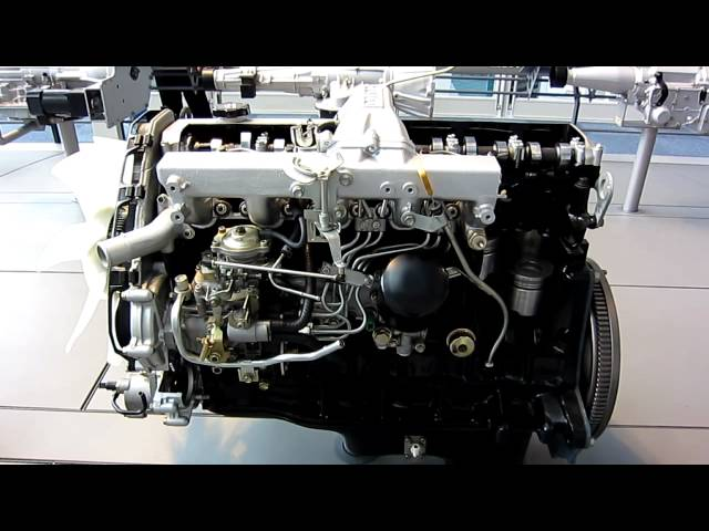 Фото к видео: Toyota 1HD-T Type Diesel Engine (1989)