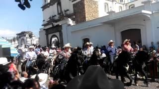 ENTRDA DE LA MUSICA COMALA 2015🐎