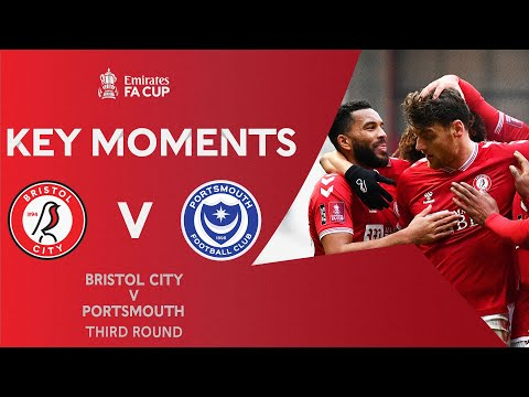 Bristol City Portsmouth Goals And Highlights