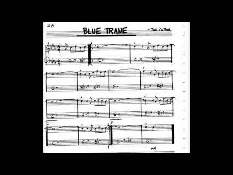 Blue Train  Play along - Backing track (C key score violin/guitar/piano)