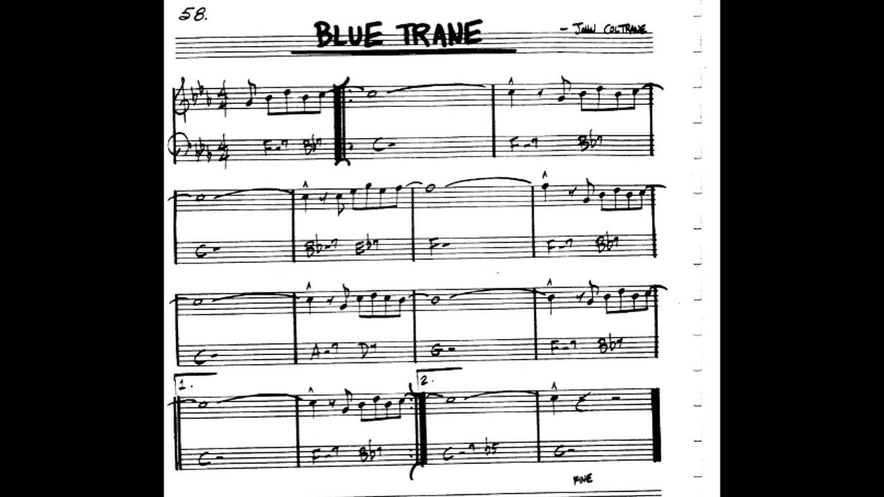 blue train play along backing track c key score violin guitar piano youtube. Black Bedroom Furniture Sets. Home Design Ideas