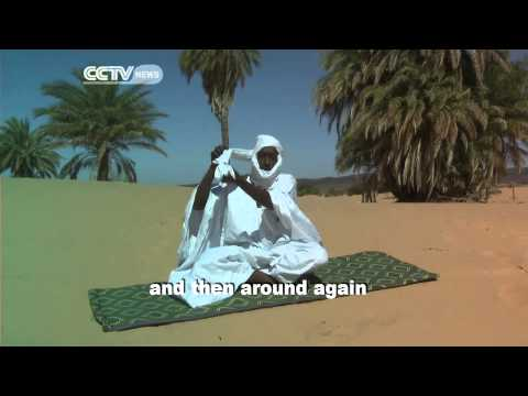 How to Wear a Mauritanian Head Scarf
