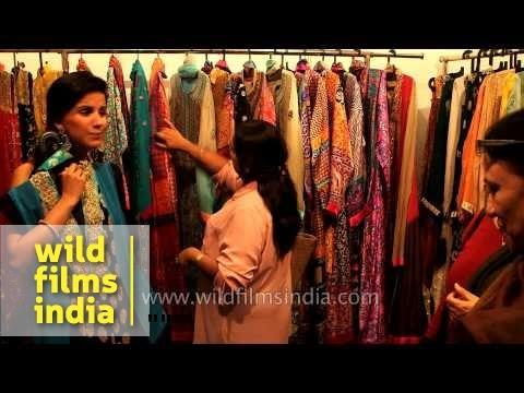 cacf3f43e9 Designer bridal dresses from Dubai sold in Delhi - YouTube