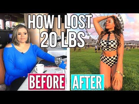 HOW I LOST 20 LBS IN TWO MONTHS!! How To Lose Weight!