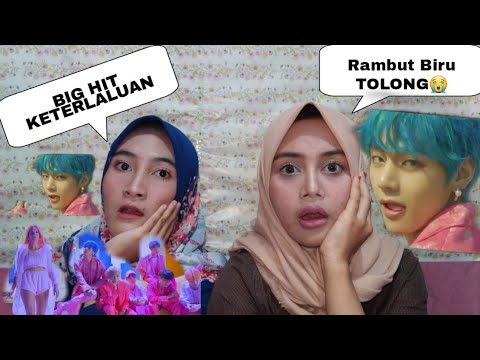 BTS - 'Boy With Luv' feat. Halsey  MV REACTION (INDONESIAN EXO Ls)