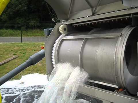 Drum Screen Drumtec Wastewater video