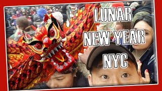 Crushing crowds at the LUNAR New Year Festival NYC
