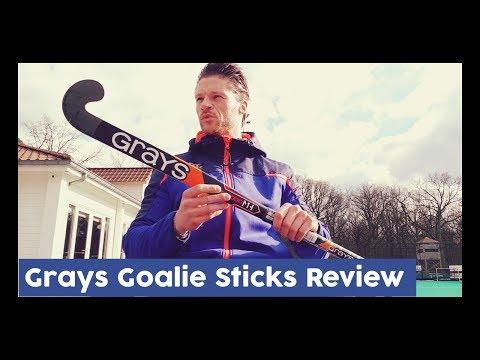 GRAYS GOALIE STICKS REVIEW + Q&A announcement  - Dennis Hockeyvlog #4 | HockeyheroesTV