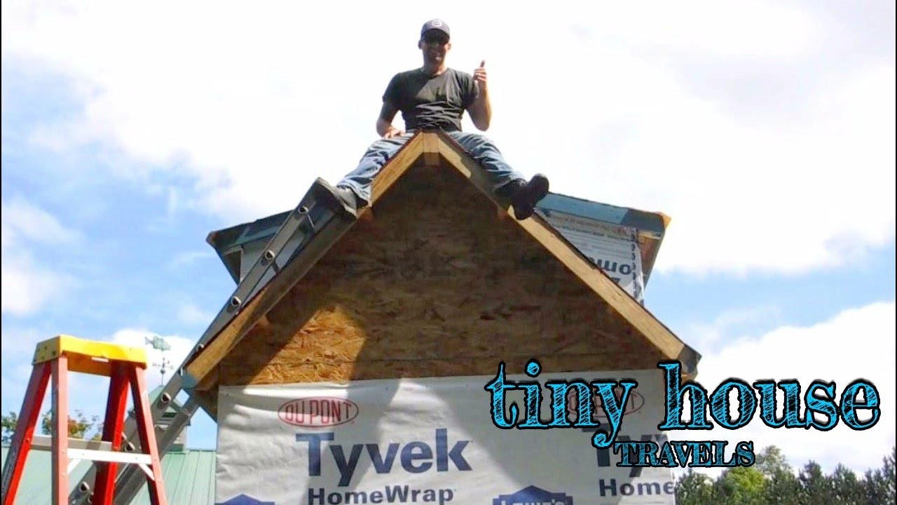 Put A Roof On It | Metal Roof Install {Tiny House Travels: Ep. 2}