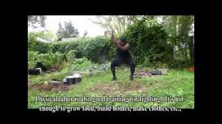 Gardening Workout Training For Black Independence